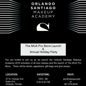 Dont miss it orlandomakeupartists RSVP now!  by mrorlandosantiago hellip