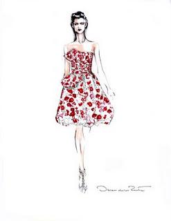 Oscar De La Renta Couture Dress Giveaway!