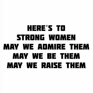 Heres to strong womenpast present amp future! strongwomen