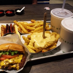 So much yum at Shake Shack Friends amp Family Dayhellip
