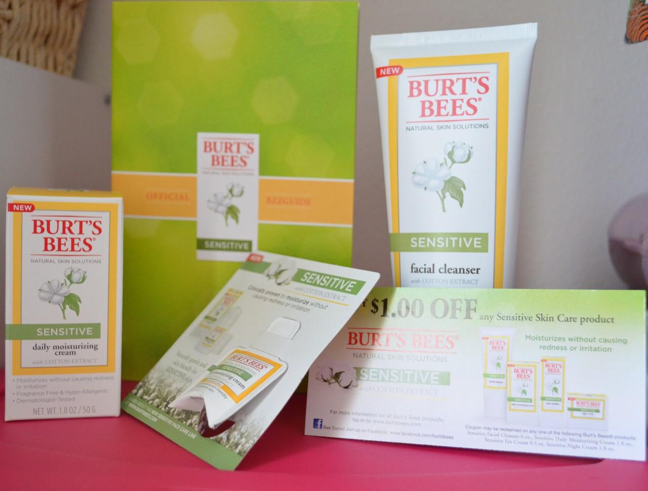Burt's Bees Natural Skin Solutions Sensitive BzzKit