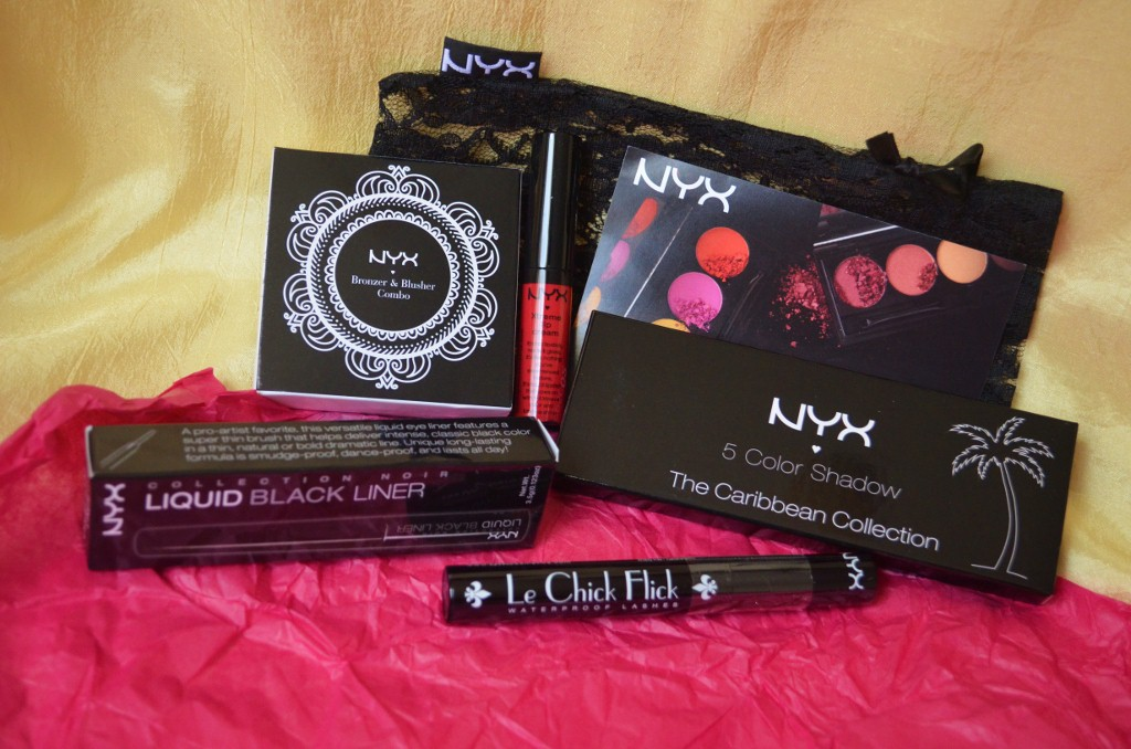 NYX Cosmetics Total Beauty Live Beauty Bundle