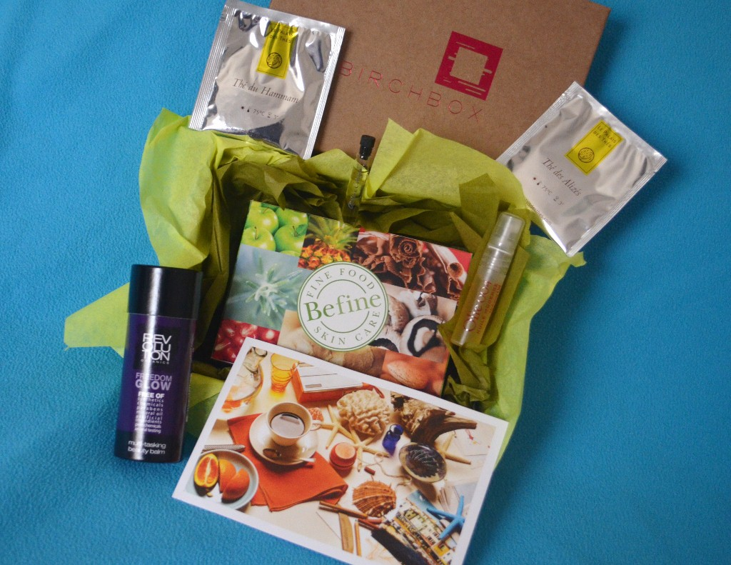 Birchbox April 2012 - Natural Wonders
