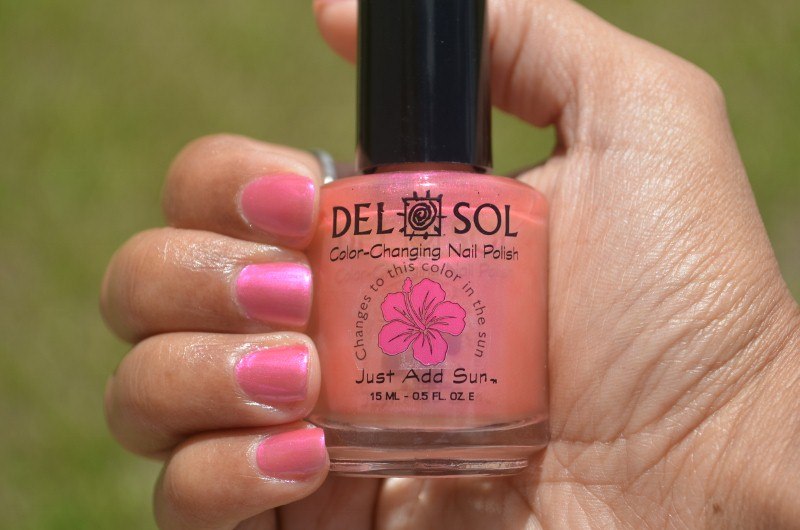Del Sol Color-Changing Nail Polish - Pretty In Pink ...