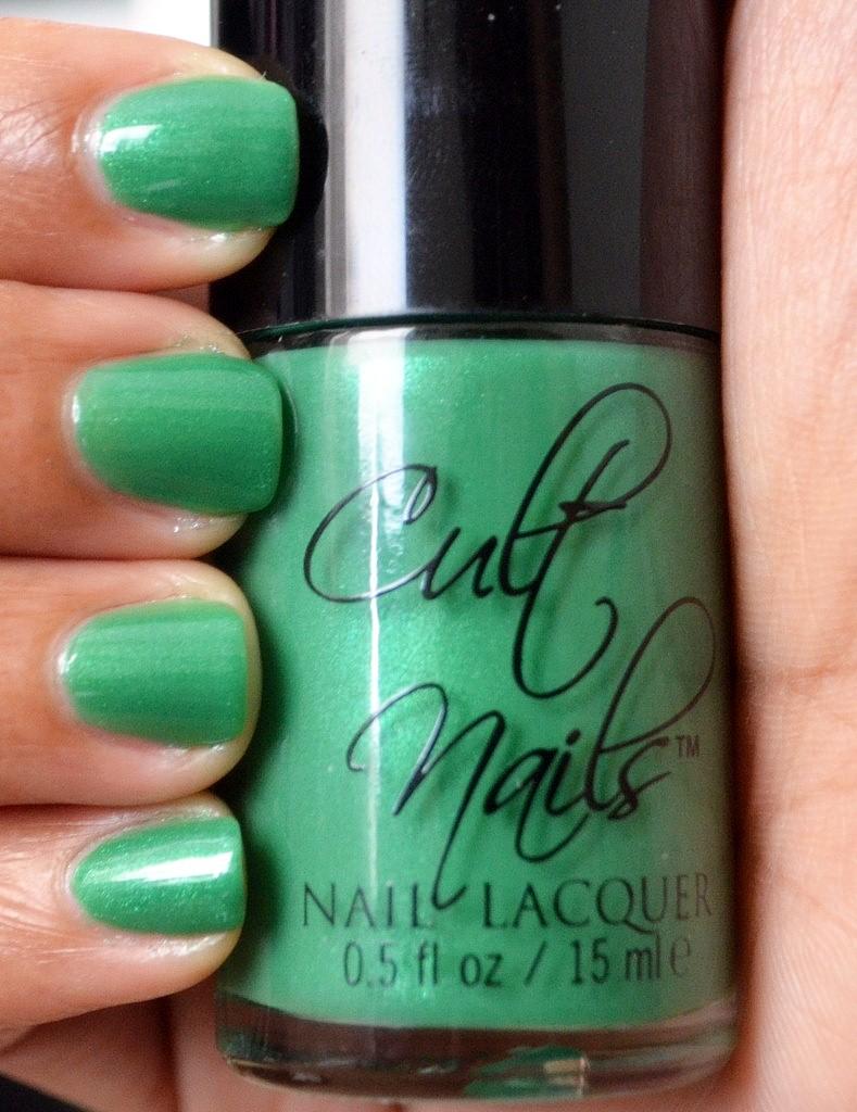 Cult Nails Fairytale Collection - Feelin Froggy