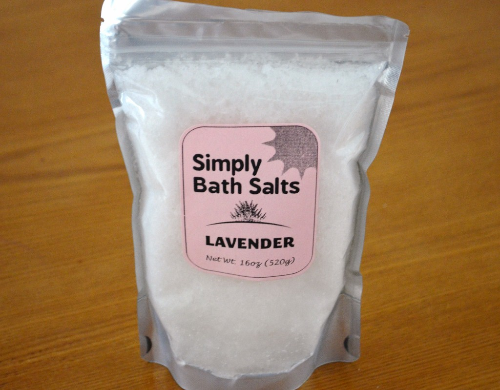Simply Bath Salts Lavender Natural Bath Salt
