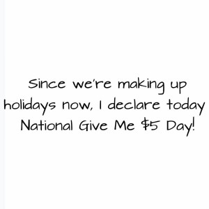 Hey guys its National Give Me 5 Day! I madehellip