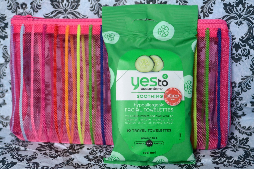 MyGlam Glam Bag - Yes To Cucumbers Soothing Facial  Towelettes