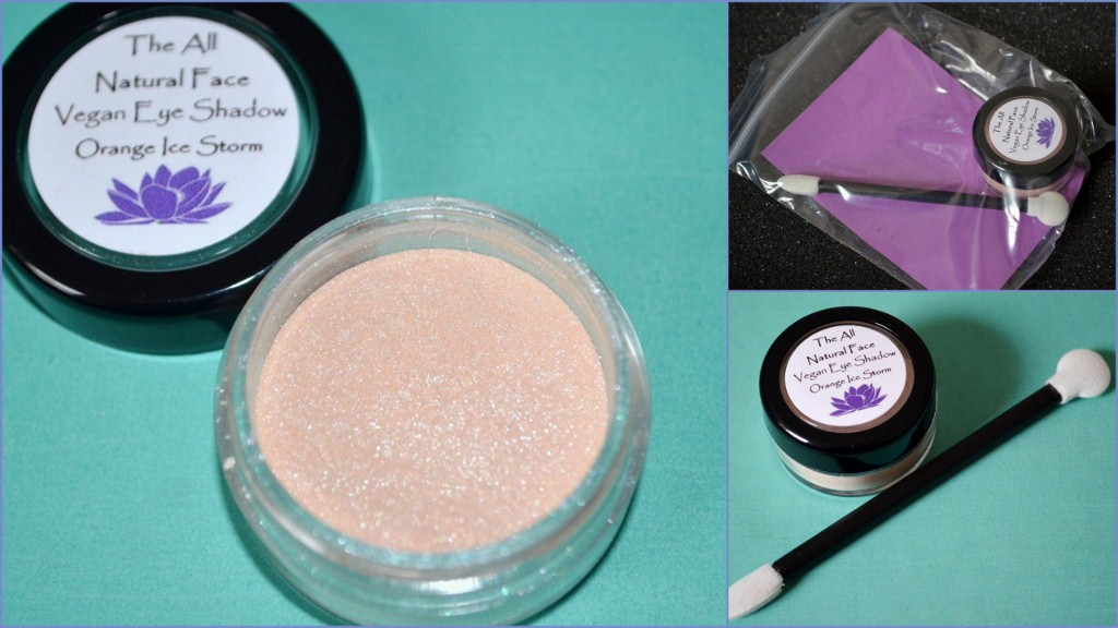 The All Natural Face Vegan Mineral Eyeshadow