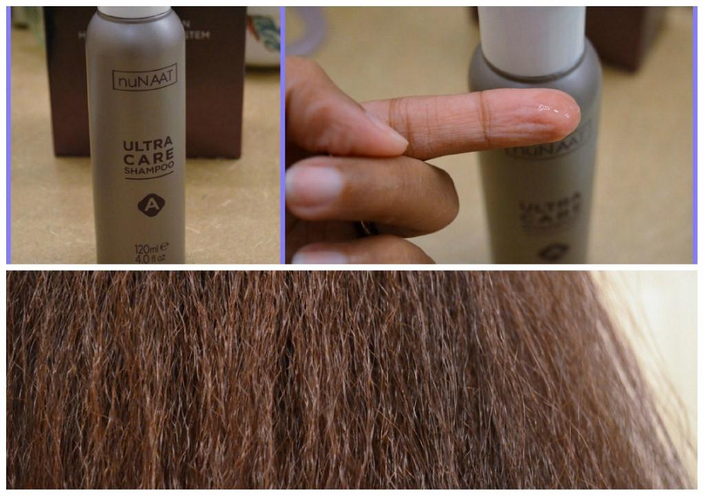 nuNAAT Ultra Keratin Touch Kit - Step 1 Shampoo