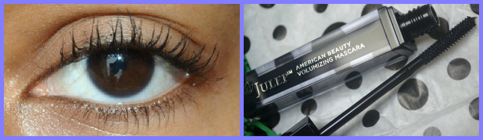 Julep American Beauty Volumizing Mascara Swatch - Jet Black