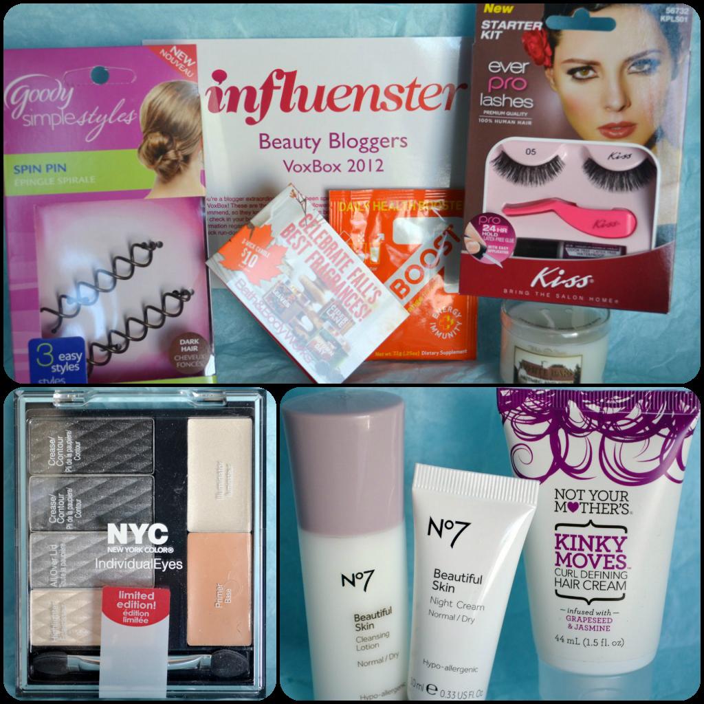 Influenster Beauty Bloggers Voxbox 2012