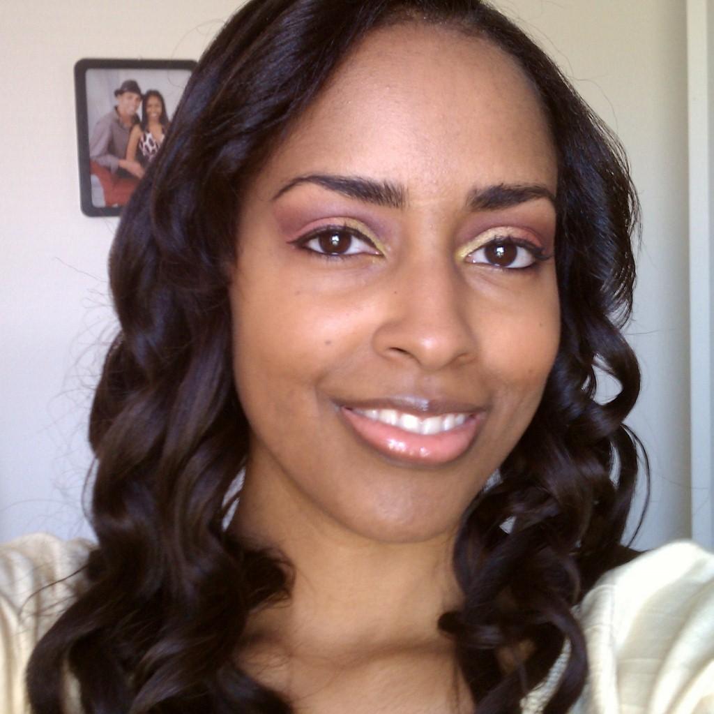 Mina Slater Hair & Makeup Test Shot Before The Makeup Show Orlando Blogger Preview