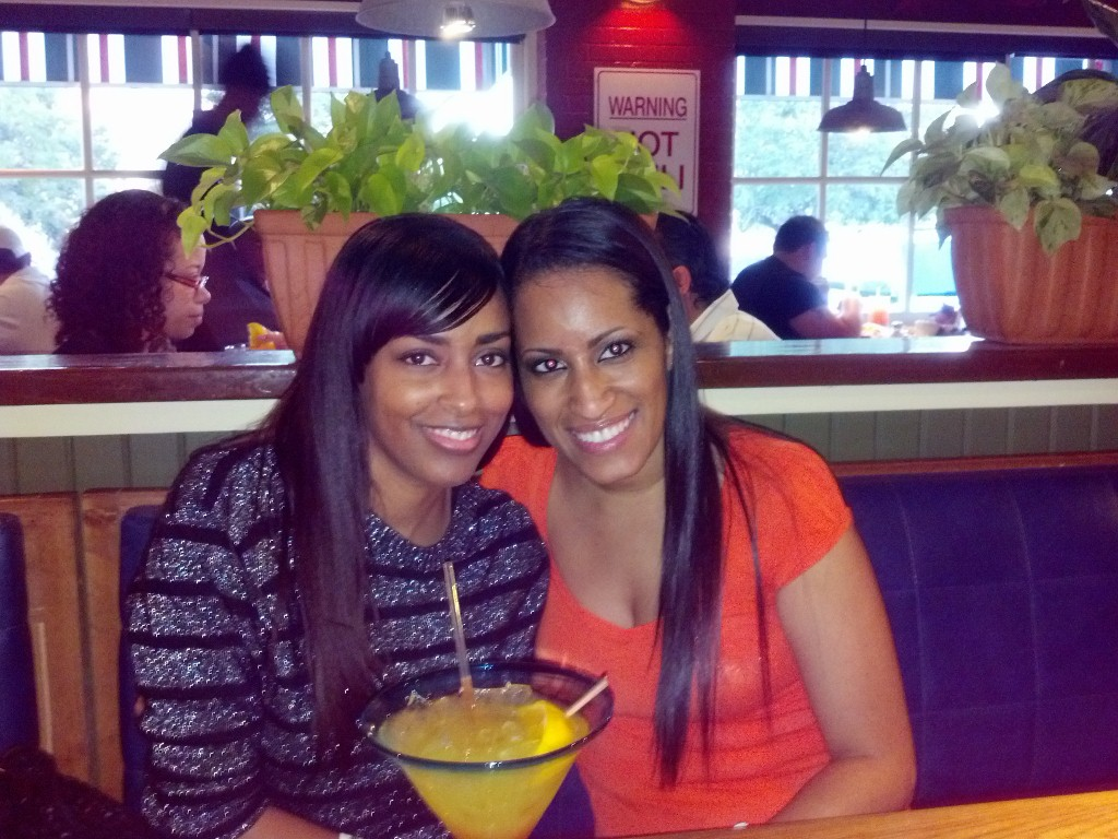 Mina Slater And Marlene Frierson At Chili's Restaurant