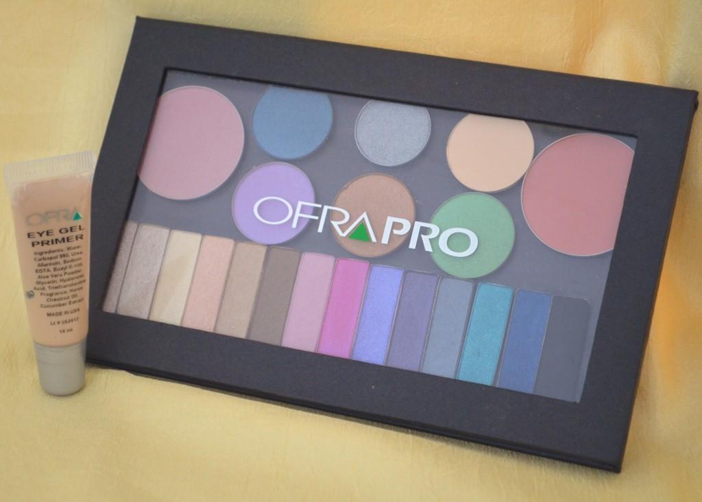 Ofra Cosmetics Eye Gel Primer & Magnetic Pro Eyeshadow Palette