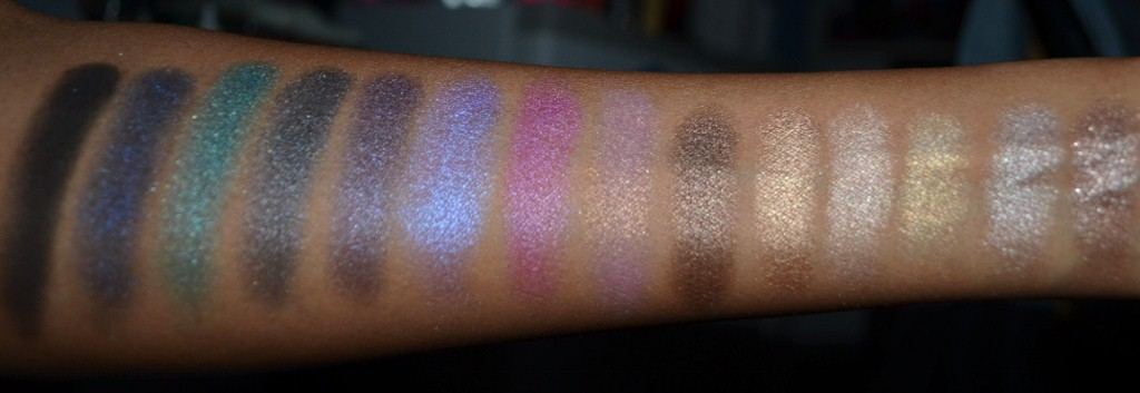 Ofra Pro Eyeshadow Swatches Without Primer