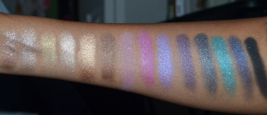 Ofra Pro Eyeshadow Swatches With Primer