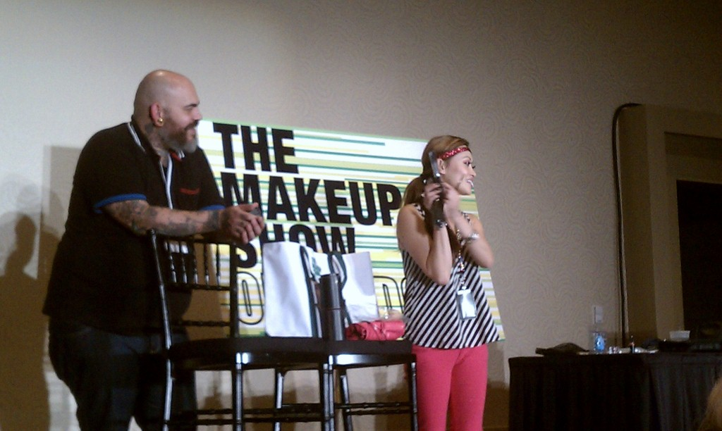 James Vincent And Elessa Jade At The Makeup Show Orlando Blogger Preview