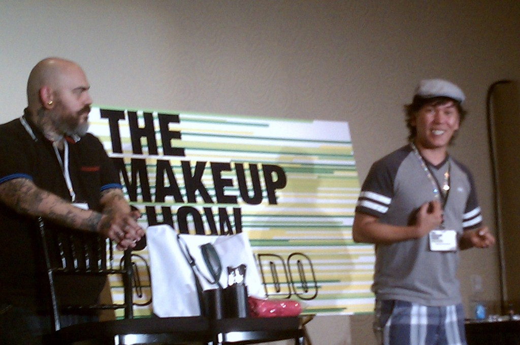 James Vincent And Koren Zander At The Makeup Show Orlando Blogger Preview