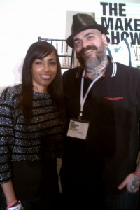 James Vincent And Mina Slater At The Makeup Show Orlando Blogger Preview
