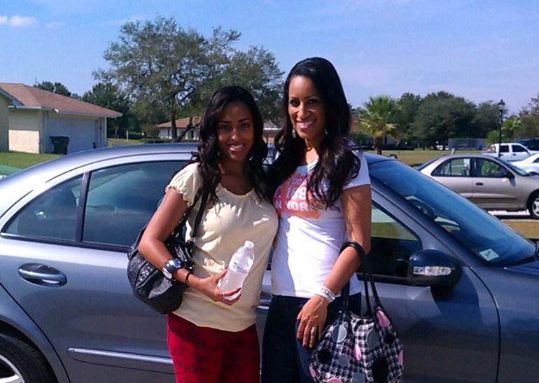 Mina Slater And Marlene Frierson In Orlando