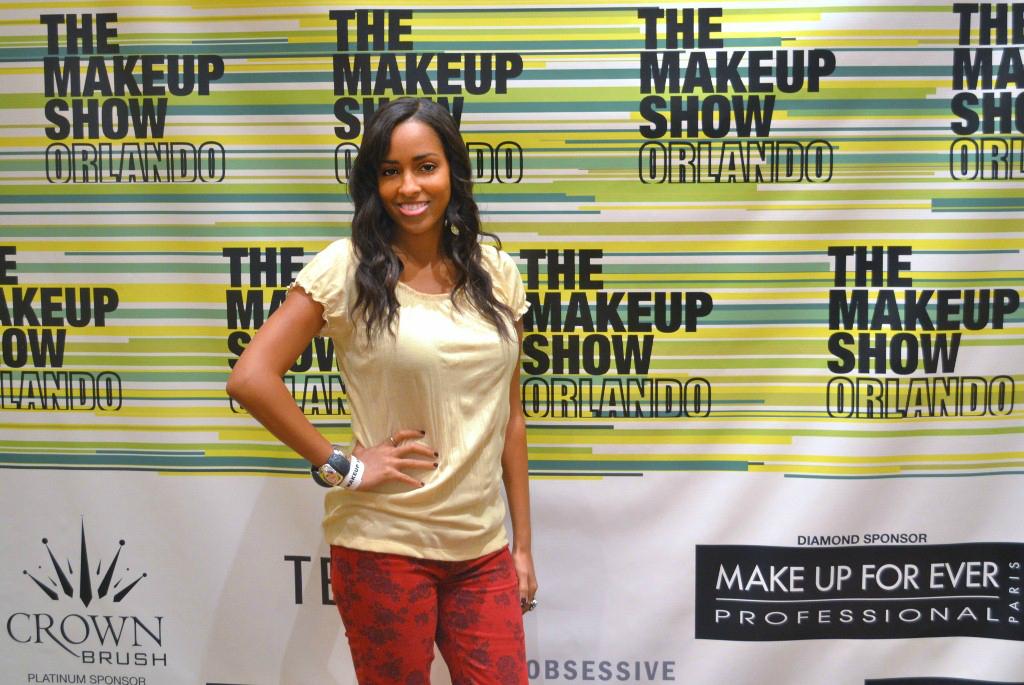 Mina Slater At The Makeup Show Orlando