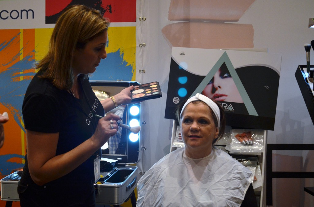 Ofra Gaito Of Ofra Cosmetics At The Makeup Show Orlando