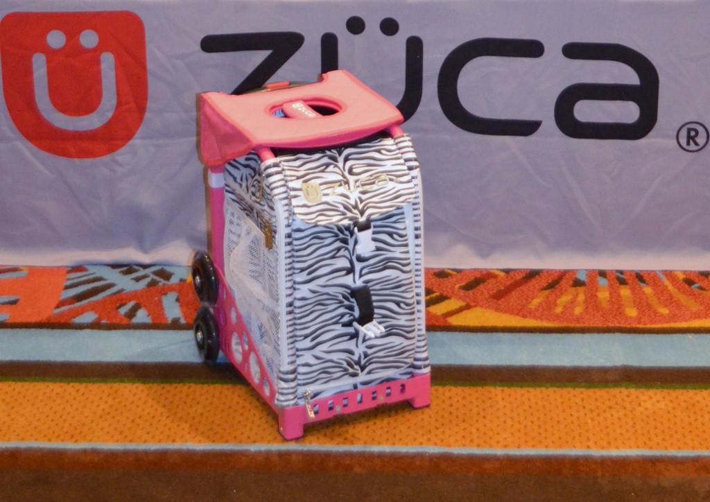 Zuca - Sport Artist Zebra Pink At The Makeup Show Orlando