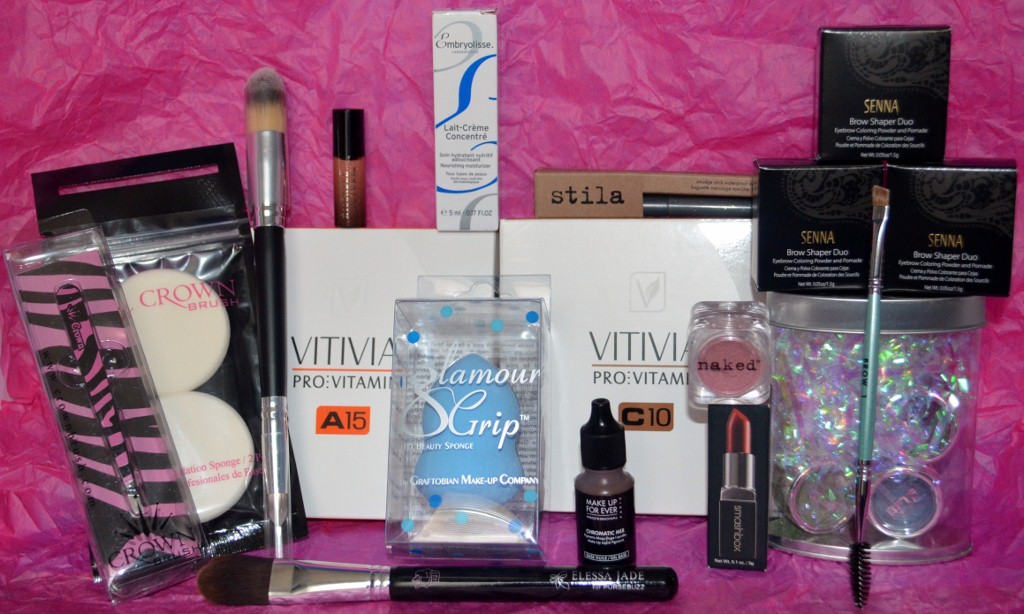 Beauty Blogger Swag Bag From The Makeup Show Orlando