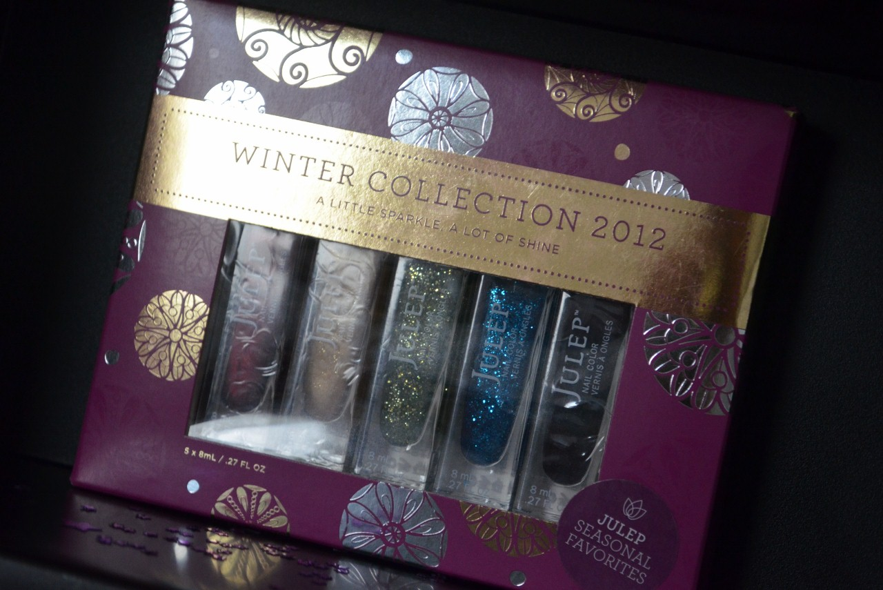 Julep Glitter & Glow Winter Collection 2012