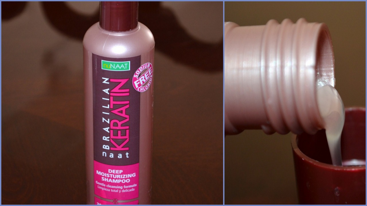 nuNAAT NAAT Brazilian Keratin Deep Moisturizing Shampoo
