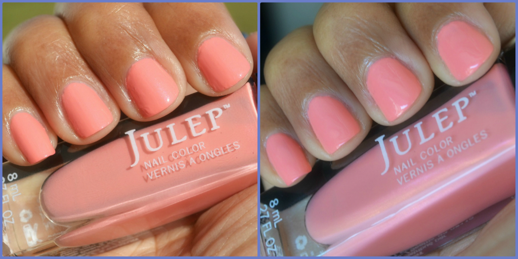 Julep Minnie Nail Polish Swatches