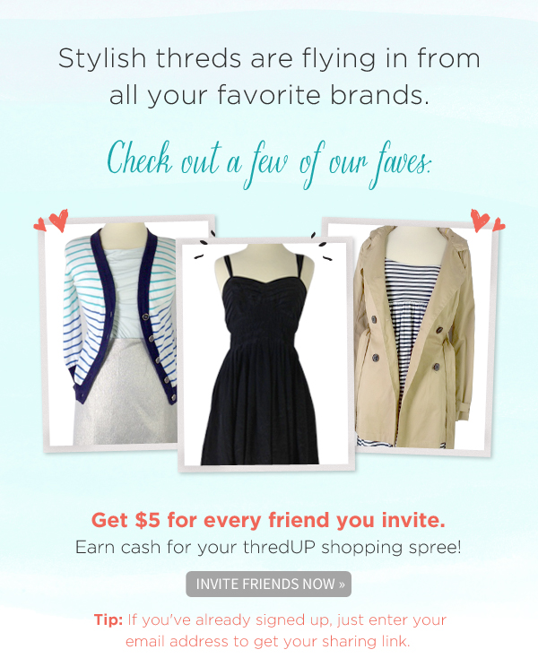 thredUP Women's Online Fashion Consignment Launch