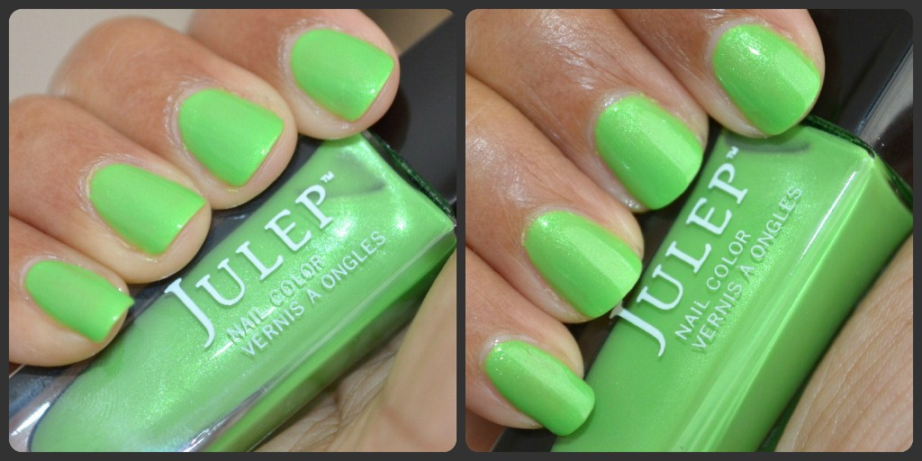 Julep Nail Polish Mackenzie Swatches, green