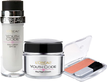 Loreal Youth Code & Covergirl Cheekers Blush Giveaway
