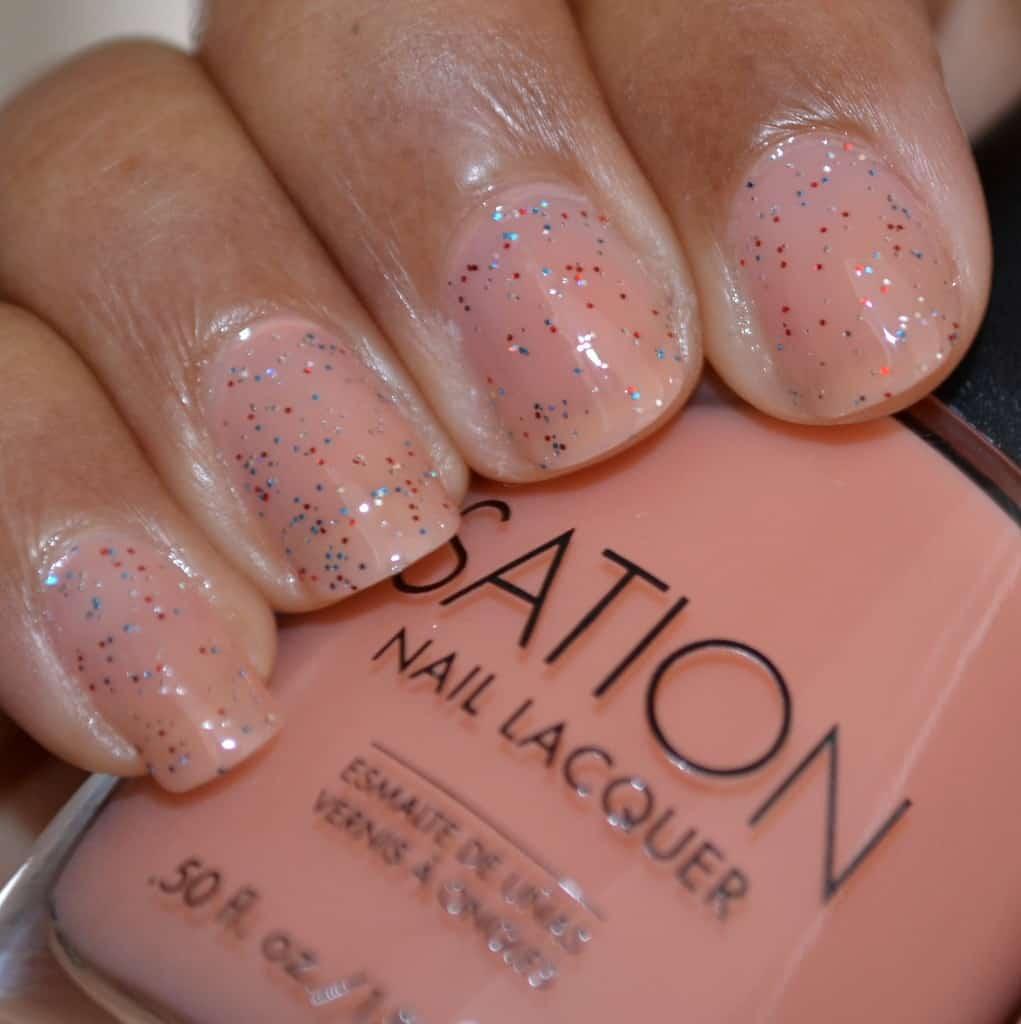 Sation Cotton Candy Nail Polish: Sation Nail Lacquer