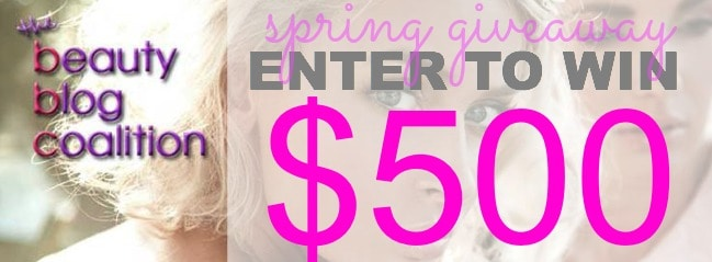 Beauty Blog Coalition Spring Giveaway