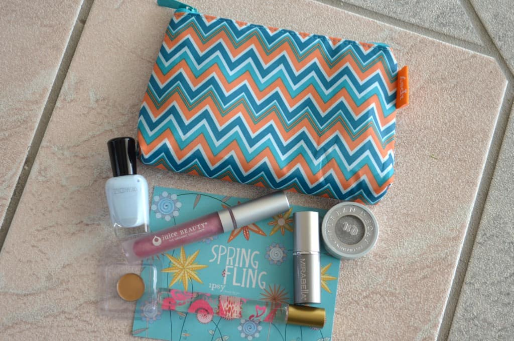 Ipsy Glambag May 2013 - Spring Fling
