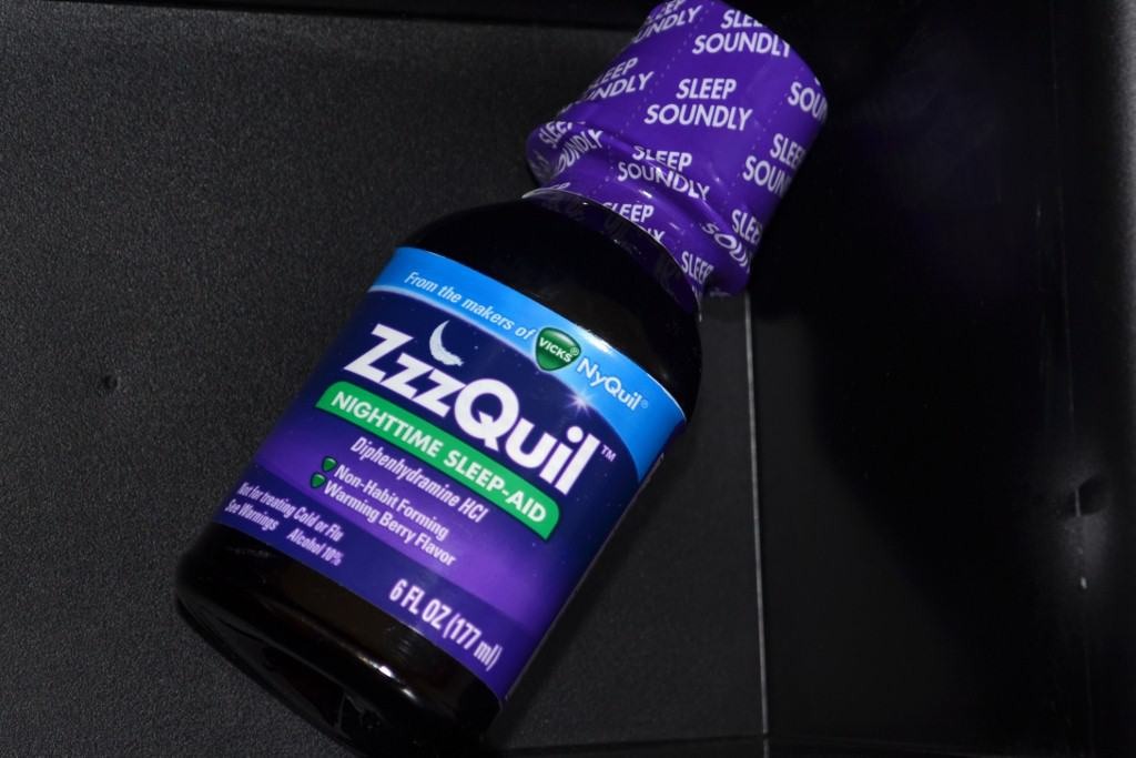 how to get over nyquil drowsiness