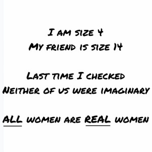 Fabulous has no size Dont let numbers define us! allwomenarerealwomen
