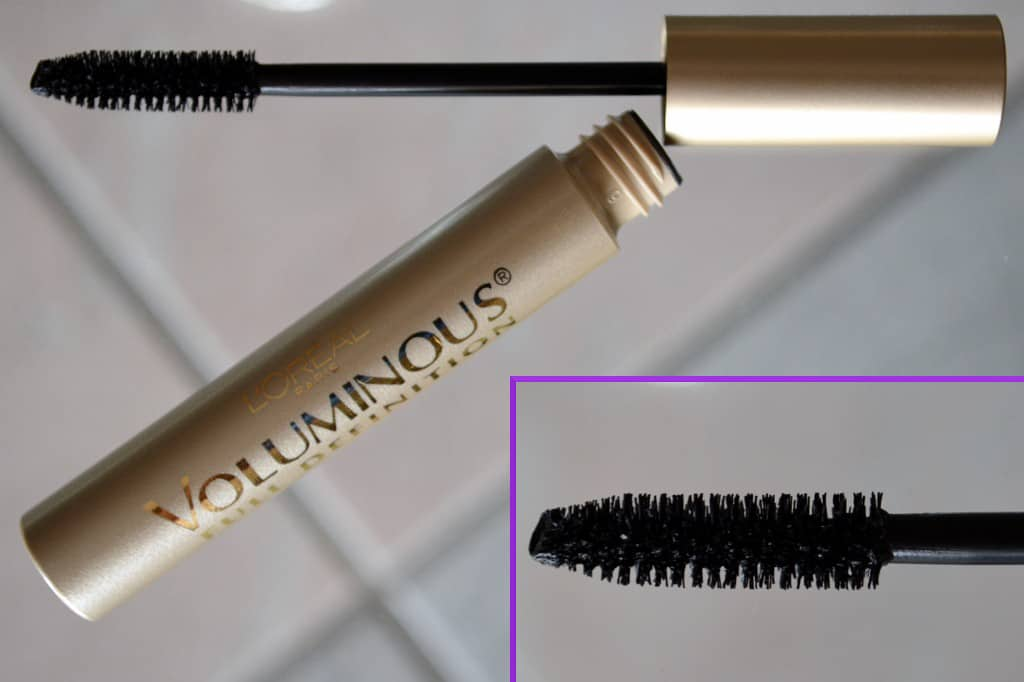 L'Oreal Voluminous Full Definition Volume Building Mascara - Blackest Black