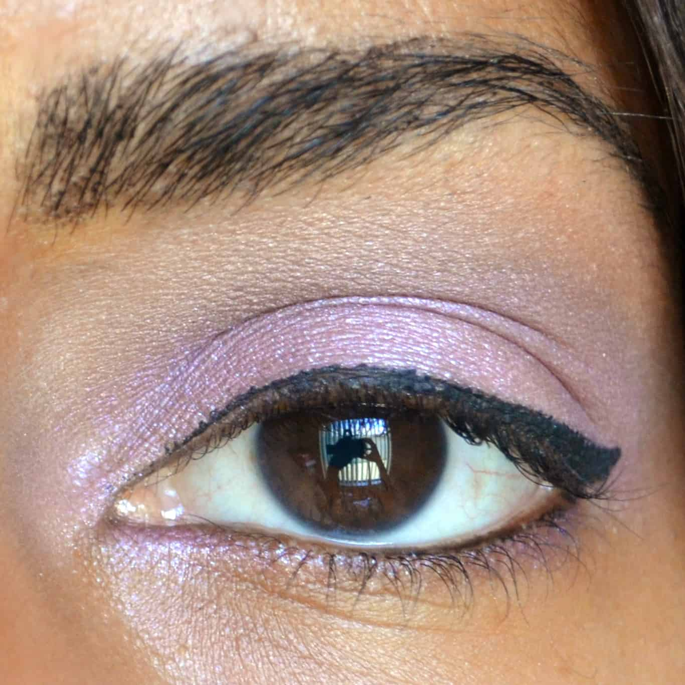 Simple Daytime Summer Eye Look - lavender, purple