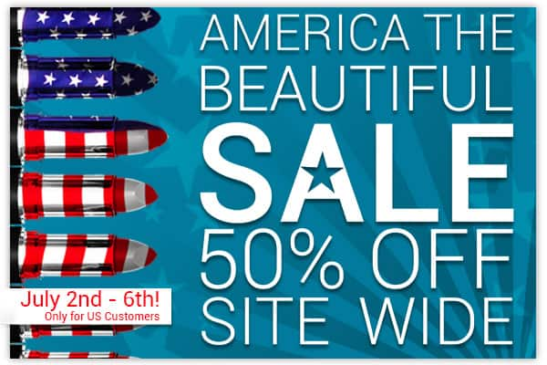OFRA Cosmetics America The Beautiful July 4th Sale