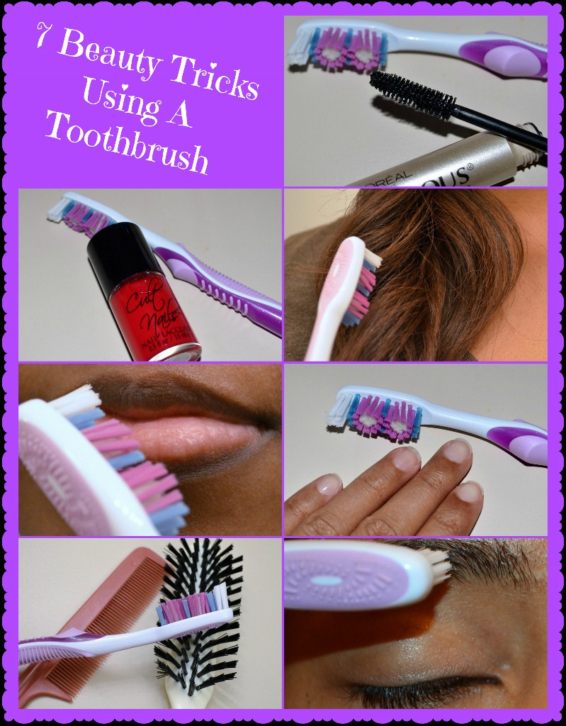 7 Beauty Tricks Using A Toothbrush