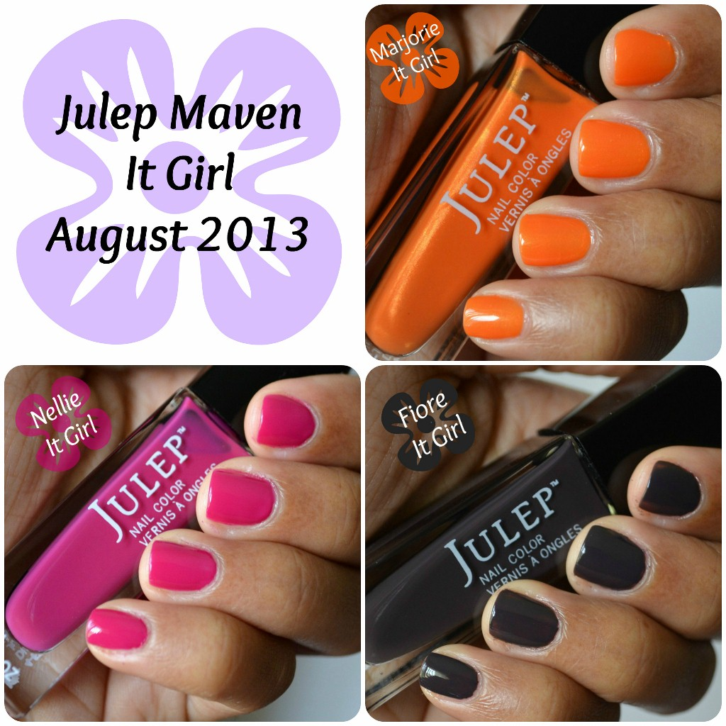 Julep Maven Swatches - It Girl - August 2013