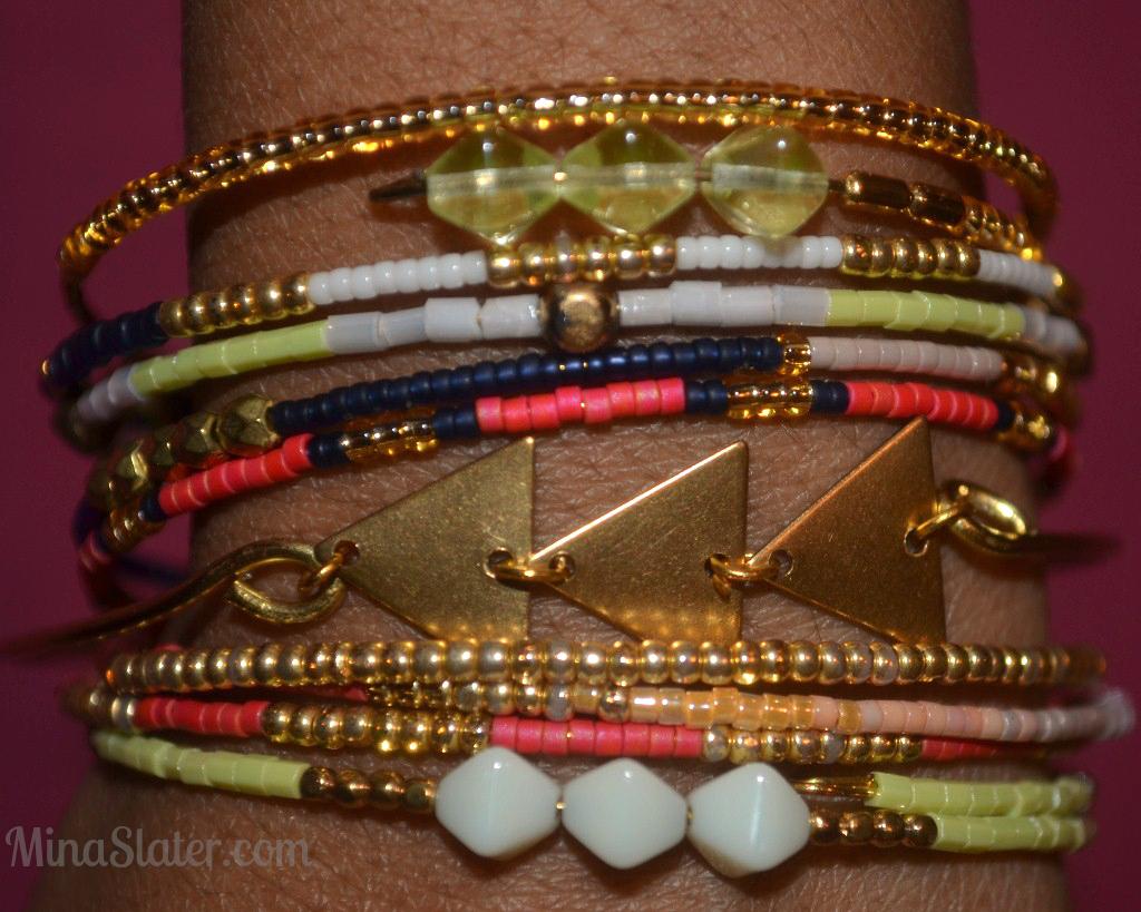 J&J Jewels Stackable Wrap Bracelets