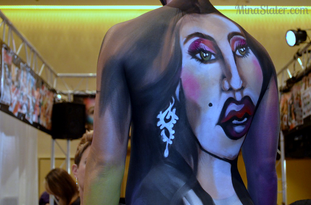 Mehron Artist Body Paint at The Makeup Show Orlando