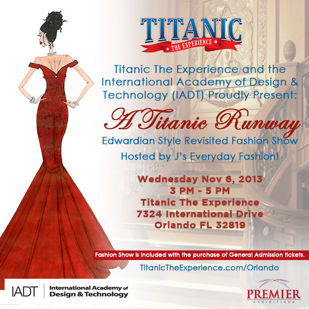 Win Tickets To A Titanic Runway Edwardian Style Revisited Orlando