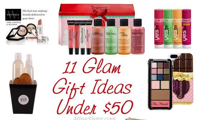 11 Glam Gift Ideas Under $50