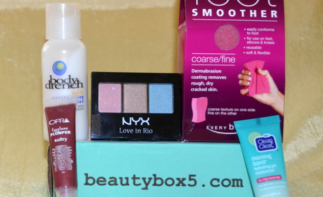 Beauty Box 5 December 2013